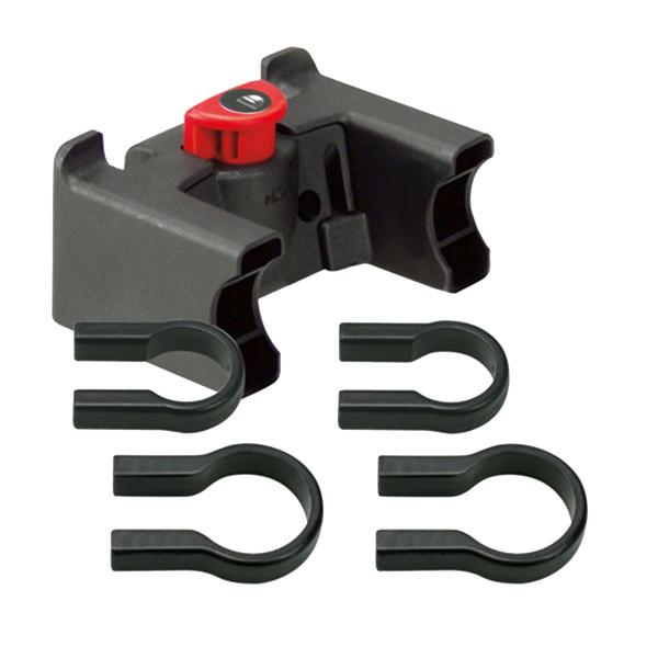 Lenker Adapter oversize schwarz mit Schloss